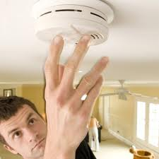 Make sure to test your smoke detector weekly and replace old batteries.